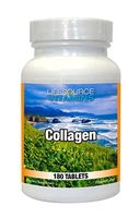 Collagen 500 Mg. Tabs - Proprietary Formula 180 Tabs NEW LARGER / VALUE SIZE