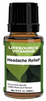 Headache Relief Blend-  0.5 fl oz-  LifeSource Essential Oils
