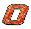 Oklahoma State University Crystal Pin