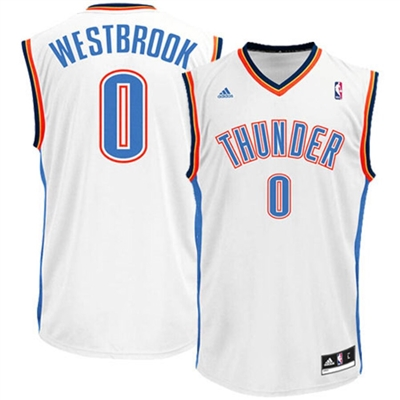 Oklahoma City Thunder Westbrook Replica Jersey