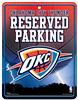 Oklahoma City Thunder Reserved Parking Sign