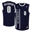 Oklahoma City Thunder Westbrook Replica Alternate Jersey