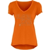 Oklahoma State Cowboys Ladies V-Neck Glitter Ink Tee