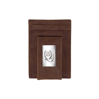Oklahoma Sooners Money Clip/Card Holder