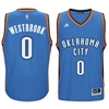 Oklahoma City Thunder Jersey #0 Westbrook