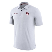 2017 Oklahoma Sooners Team Issue Polo White