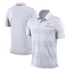 Oklahoma State Cowboys Nike 2018 Early Season Coaches Sideline Performance Polo – White