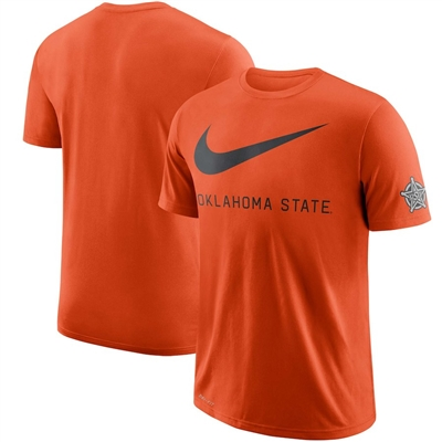 Oklahoma State Cowboys Nike DNA Performance T-Shirt - Orange