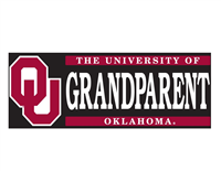 University of Oklahoma Grandparent W/ OU Vinyl Decal