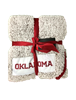 Oklahoma Sooners Frosty Fleese Blanket