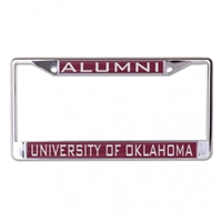 University of Oklahoma Alumni License Plate Frame