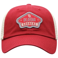 Oklahoma Sooners 2 Tone Adjustable Mesh Hat