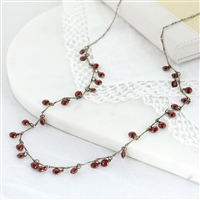 "Oklahoma Sooners 36"" Dot Necklace"