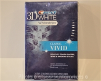 Crest 3D White Whitestrips Teeth Whitening Kit, Classic Vivid, Oral Care
