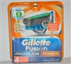 Gillette Fusion ProGlide Power Razor Blade Refills - 4 Cartridges