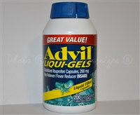 Advil Liqui-Gels Pain Reliever/Fever Reducer Capsules, 200 Ct