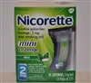 Nicorette Mini Lozenge, 2mg, Mint