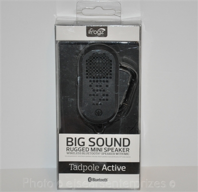 iFrogz Audio Tadpole Active Wireless Bluetooth Speaker