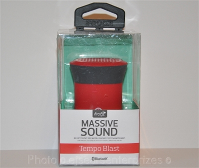 iFrogz Audio Tempo Blast Wireless Bluetooth Speaker