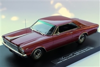1966 Ford Galaxie 500 7-Litre Hardtop Barn Find Edition in Dark Red 1:24