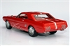1963 Ford Mustang II Concept Tribute Edition Red 1:24 Automodello with Removable Hardtop