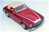 1954 Cunningham C-3 Cabriolet Tribute Edition signed by the Cunningham Family in 2-Tone Red 1:43