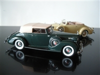 1938 Packard Twelve Convertible Victoria // 2011 Model of the Year 1:43 // Last ONE