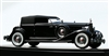 1934 Packard Twelve Convertible Victoria by Dietrich Press Car Edition 1:43