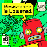 Resistance Is Lowered font
