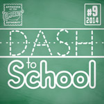 Dash to School font