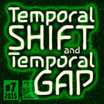 Temporal Shift/Gap font