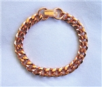 CB-05 - PURE COPPER CHAIN BRACELET - 8 INCHES