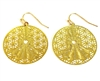 Yoga 18K Gold Plated Earrings