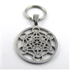 Metatron Stainless Steel Keyring