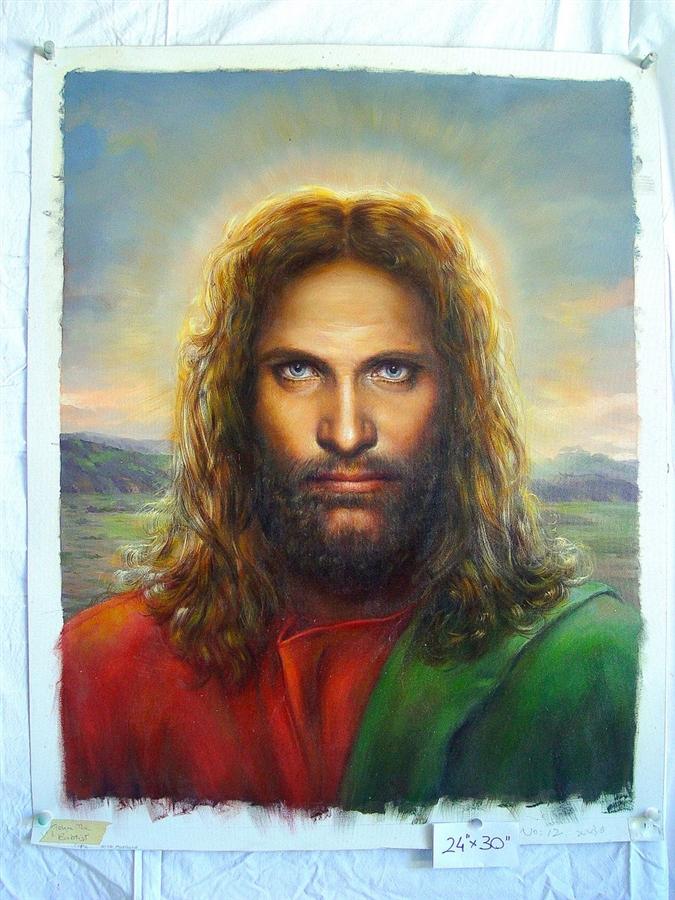 The original painting of jesus