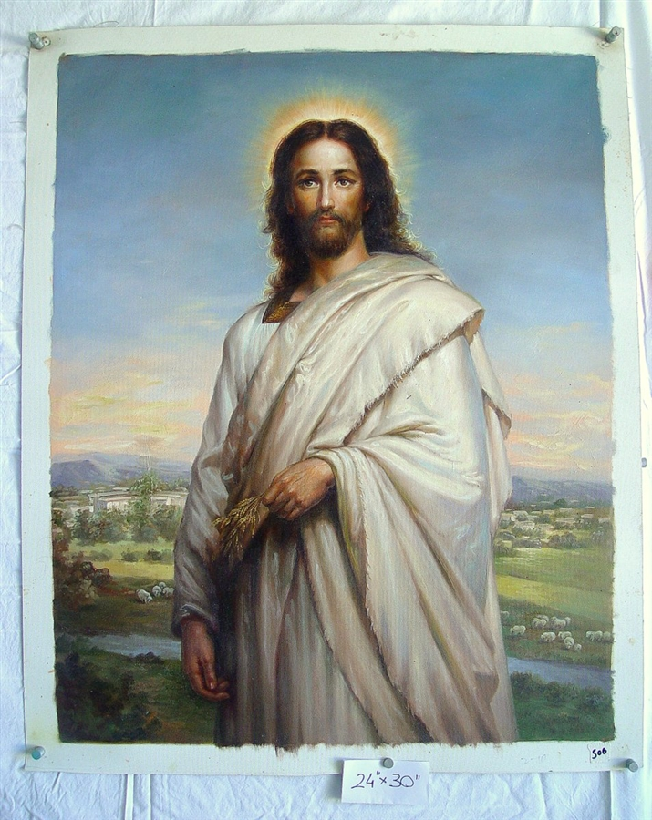 Jesus Christ Original Oil Painting