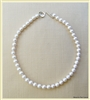 PN-07B PRECIOUS 9MM WHITE PEARL NECKLACE
