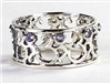 ROM-13 OM Ring with authentic Swarovski Crystals