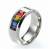 RSR-01 Adjustable Rainbow Ring in Stainless Steel