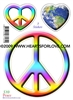 S-10 Peace - Peaceful Heart - Earth