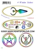 S-14 Goddess - Celebrate Love - Pentagram