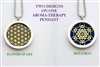 Flower of Life/ Metatron Aroma Therapy Pendant