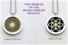 Torus Vortex/Seed of Life Aroma Therapy Pendant