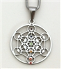 Metatron pendant stainless steel
