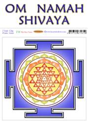 T-058 Blue Shree Yantra