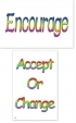 WA-247 Encourage - Accept or Change - Wallet Altar