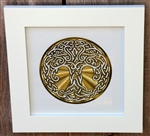 Framed 6in Celtic Tree of Life Healing Grid