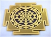 18K Gold Plated Shree Yantra Fridge Magnet