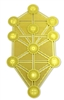 18k gold plated Kabbalah Tree of Life Healing Grid
