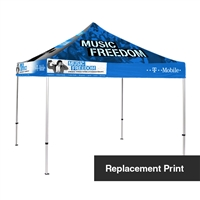 10 ft Canopy Tent - Replacement Print